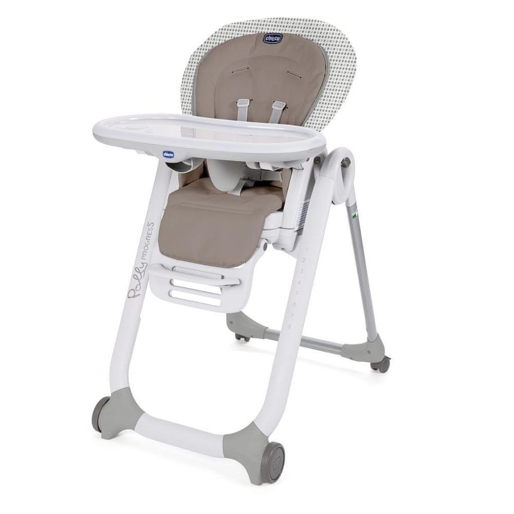 Chicco Židlička jídelní Polly Progres5 - Pois