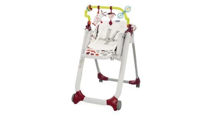 Chicco Židlička jídelní Polly Progres5 - Anthracite