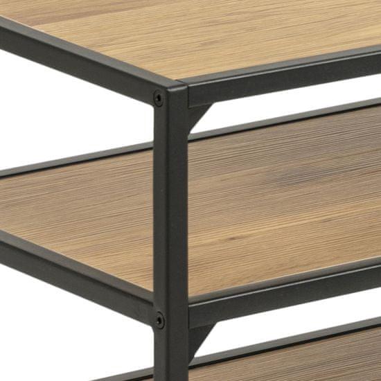 Design Scandinavia Moderný televízny stolík Seashell, 120 cm