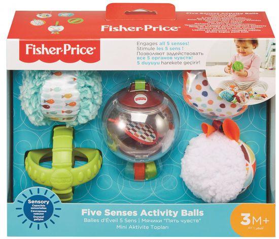 Fisher-Price Míčky pro všechny smysly FXC32