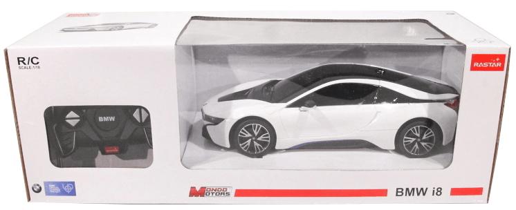 Mondo Motors BMW I8 1:18 - bílá