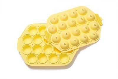 Decora Silikonová forma na 18x cake pops žlutá