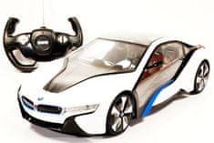 Mondo Motors samochód zdalnie sterowany BMW I8 1:14 - biały