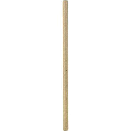 Abena BIO papirnate slamice, 25 cm, tanjše, natur, 250 kosov