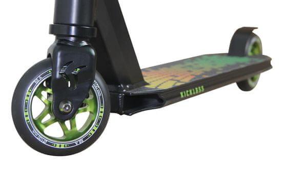 Schildkröt Stunt Kickless Forest skiro, črno/zelen