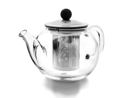 Ibili Skleněná konvička na čaj 0,9l