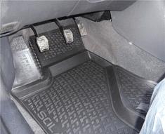 SIXTOL Gumové koberce BMW 5-er Limousine F10 Facelift (13-) / Touring F11 Facelift (13-) (3D)