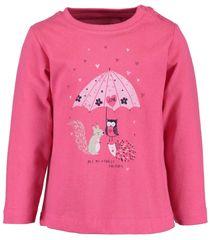 Blue Seven dívčí tričko 62 růžová
