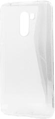 EPICO RONNY GLOSS CASE ovitek za Xiaomi Pocophone F1, bel - transparenten, 34610101000001