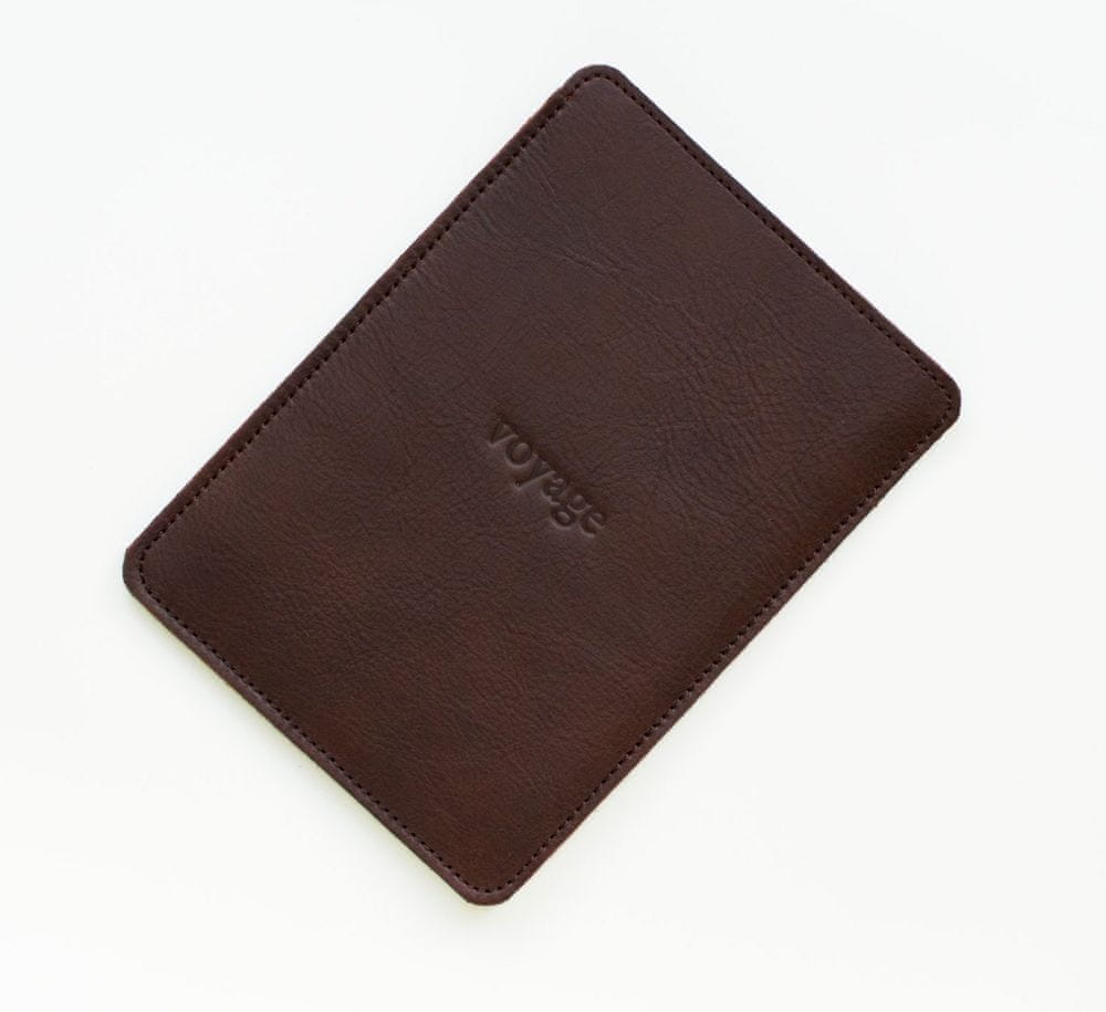 Voyage Kožený obal na Amazon Kindle Paperwhite // PELTA (Dark Brown)