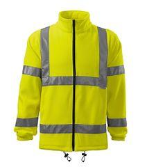 Malfini Fleece unisex Rimeck HV Jacket 5V1 Fluorescenční žlutá XL