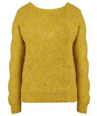 NAFNAF Mofornia ženski pulover LHNU66D, S, rumen