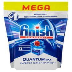 Finish Quantum Max tablete za pralni stroj, 72 kosov