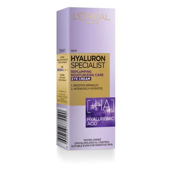 Loreal Paris Hyaluron Specialist krema za okrog oči, 15ml