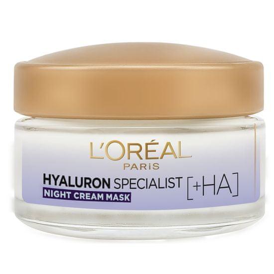 Loreal Paris Hyaluron Specialist nočna vlažilna krema, za povrnitev volumna, 50ml
