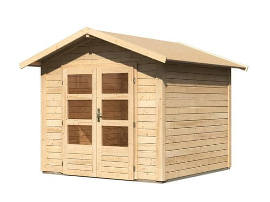 KARIBU dřevěný domek KARIBU TALKAU 4 (83336) natur