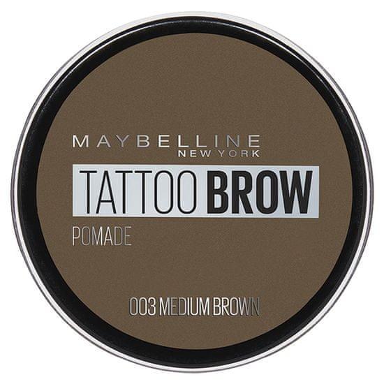 Maybelline Tattoo Brow pomada za obrvi, 03
