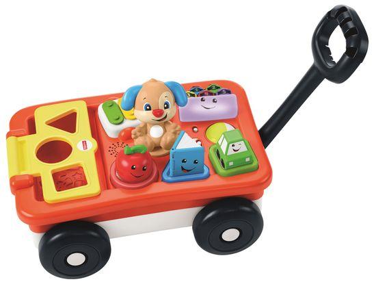 Fisher-Price Edukacyjny wózek szczeniaczka PL