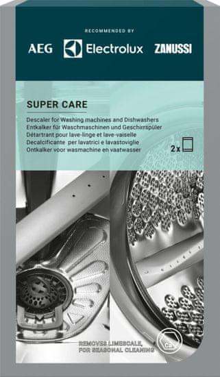 Electrolux Super Care odvápňovač pre práčky a umývačky M3GCP300 2 balenia