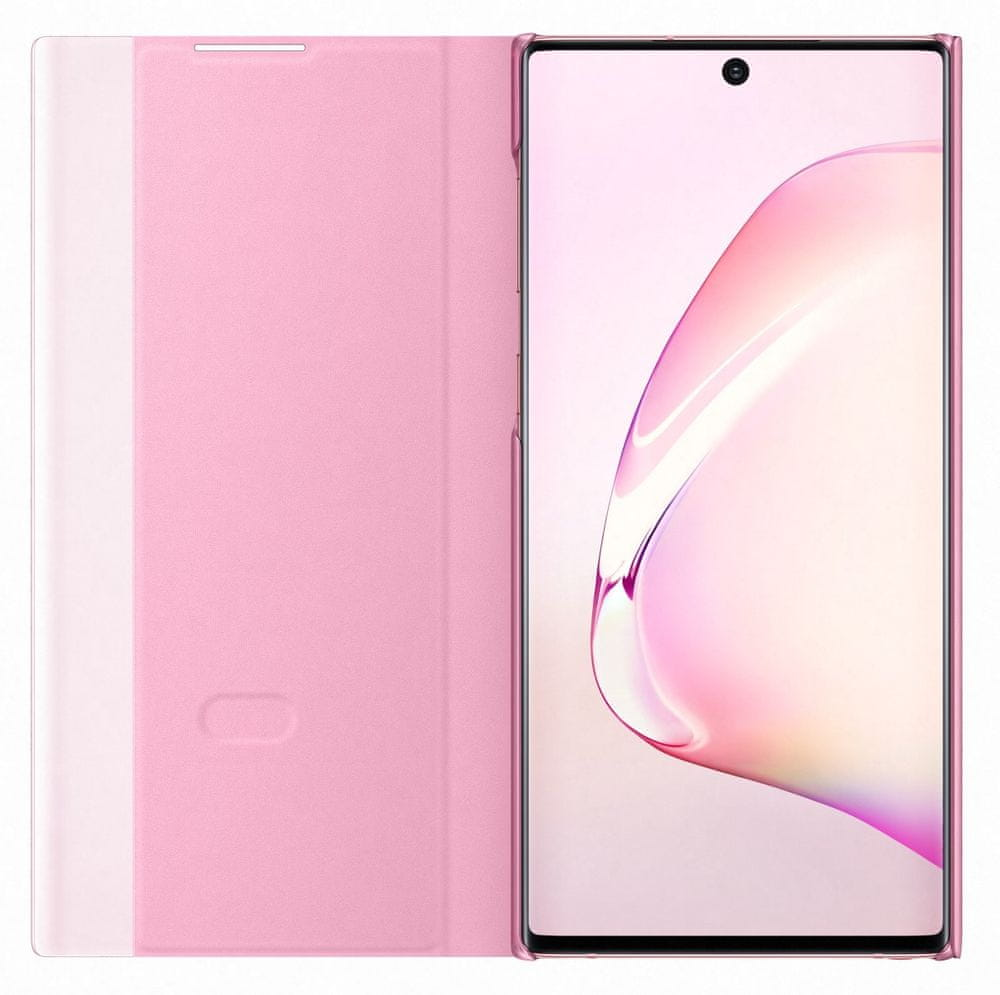 Samsung Flipové pouzdro Clear View pro Galaxy Note 10, růžová (EF-ZN970CPEGWW) - rozbaleno