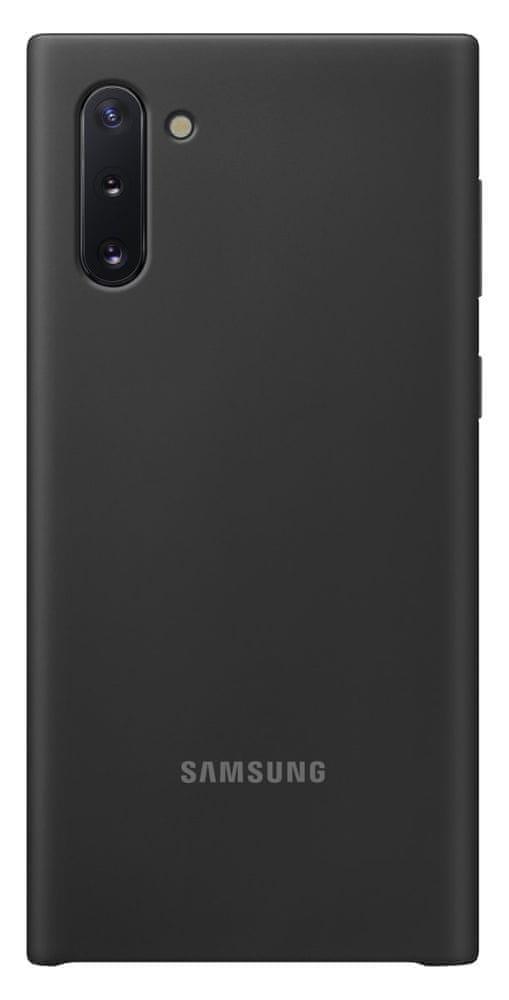 Samsung Silikonový zadní kryt pro Galaxy Note 10, černá (EF-PN970TBEGWW)