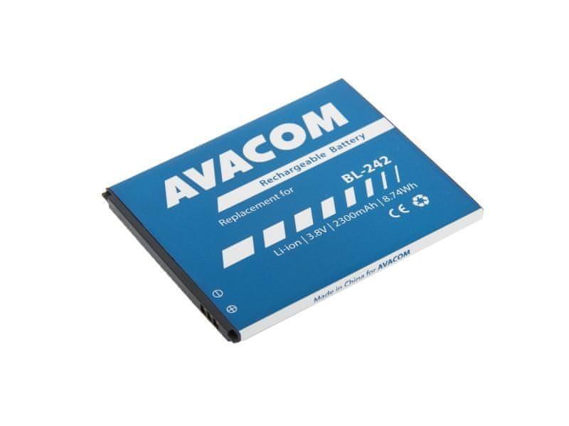 Avacom Baterie do mobilu Lenovo A6000 Li-Ion 3,8V 2300mAh (náhrada BL242)