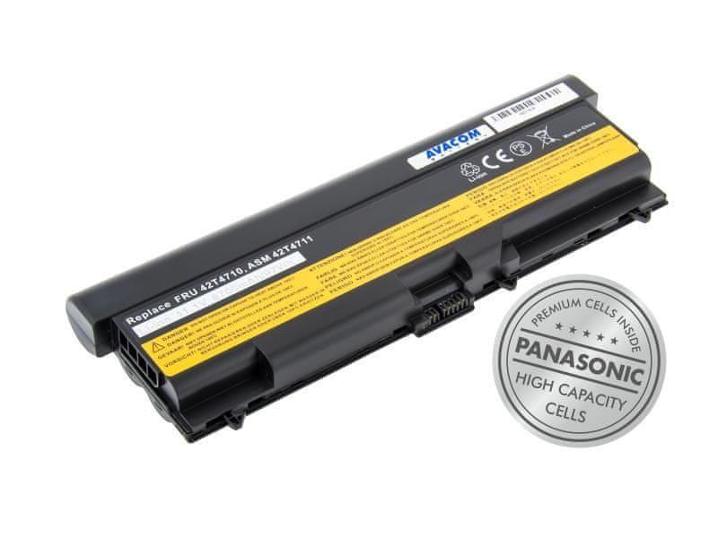 "Avacom Lenovo ThinkPad T410/SL510/Edge 14"", Edge 15"" Li-Ion 11,1V 8700mAh"