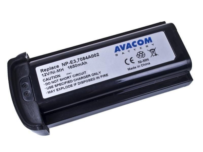 Avacom Canon NP-E3 Ni-MH 12V 1650mAh 19.8Wh