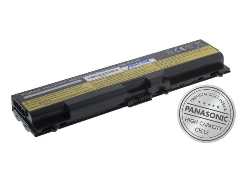 "Avacom Lenovo ThinkPad T410/SL510/Edge 14"", Edge 15"" Li-Ion 10,8V 5800mAh/63Wh"