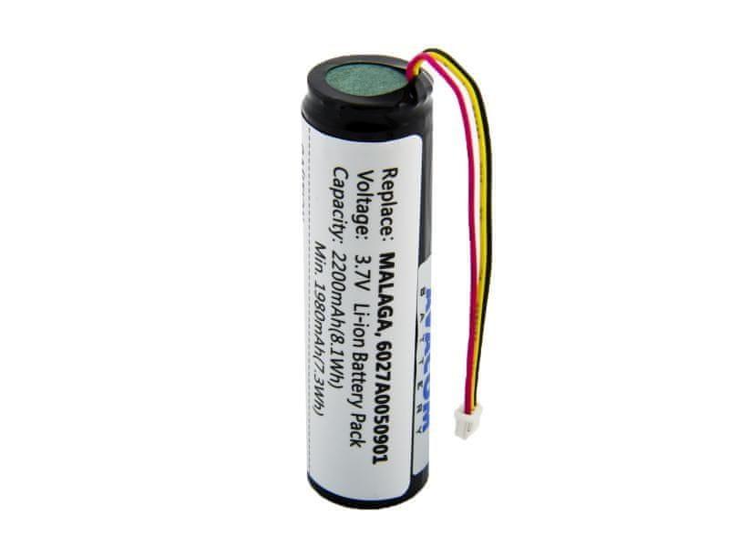 Avacom Baterie do navigace TomTom Go 400, 500, 600 Li-Ion 3,7V 2200mAh