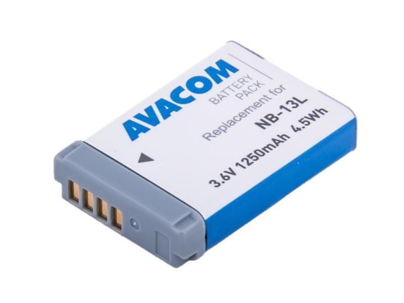 Avacom Canon NB-13L Li-Ion 3.6V 1250mAh 4.5Wh AVA