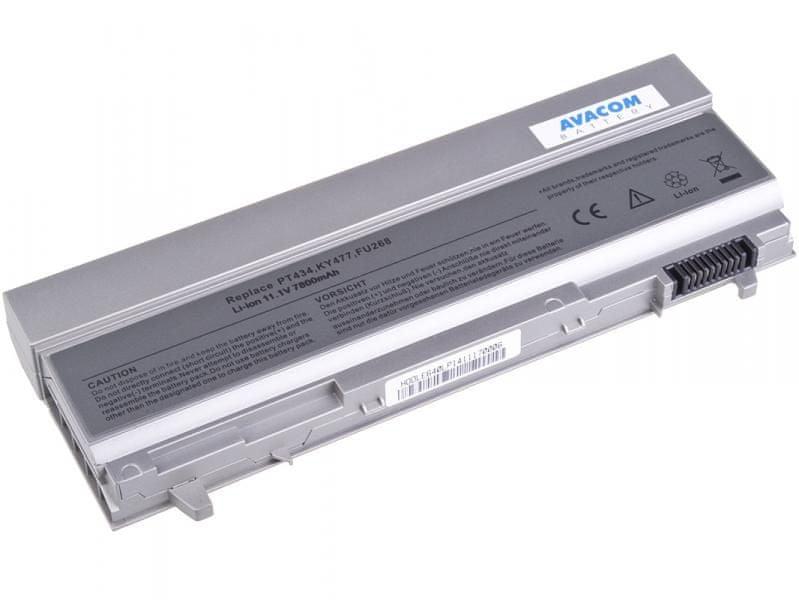Avacom Dell Latitude E6400, E6410, E6500 Li-Ion 11,1V 7800mAh / 87Wh