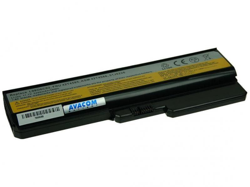 Avacom Lenovo G550, IdeaPad V460 series Li-Ion 11,1V 5200mAh/58Wh