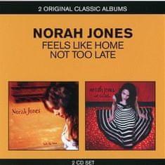 Jones Norah: Feels Like Home/Not Too Late (2x CD) - CD