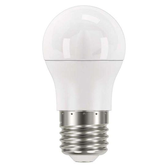 Emos LED Classic Mini Globe 8W E27 žarnica, nevtralna bela
