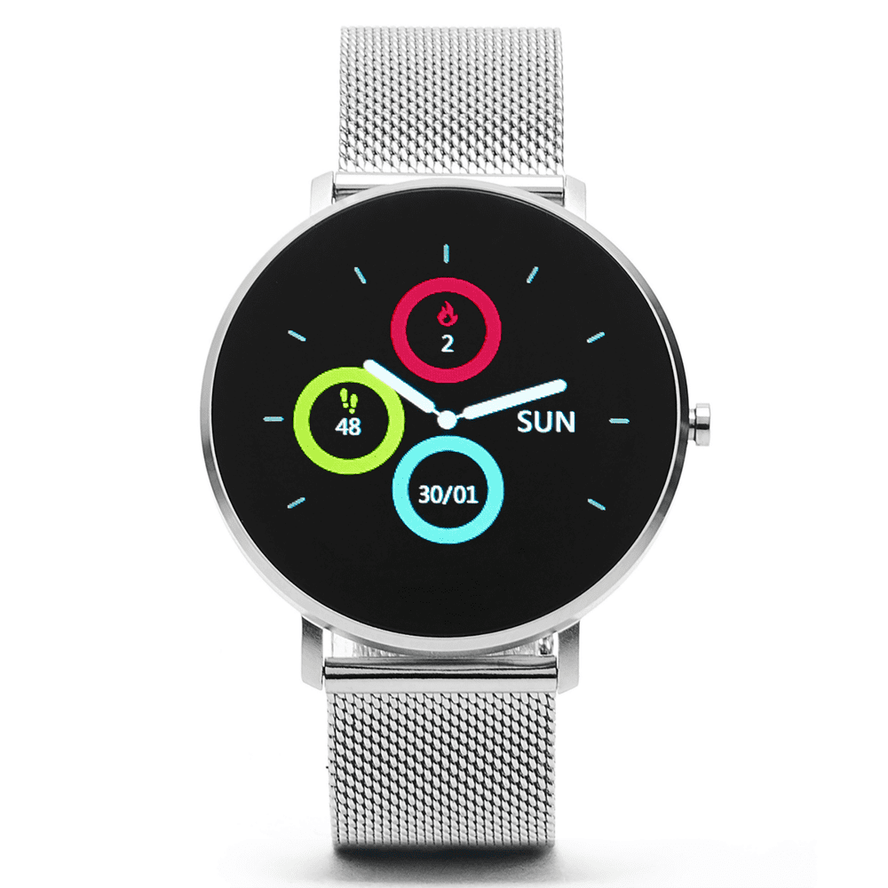 ARMODD Silentwatch - stříbrná, chytré hodinky (smartwatch)