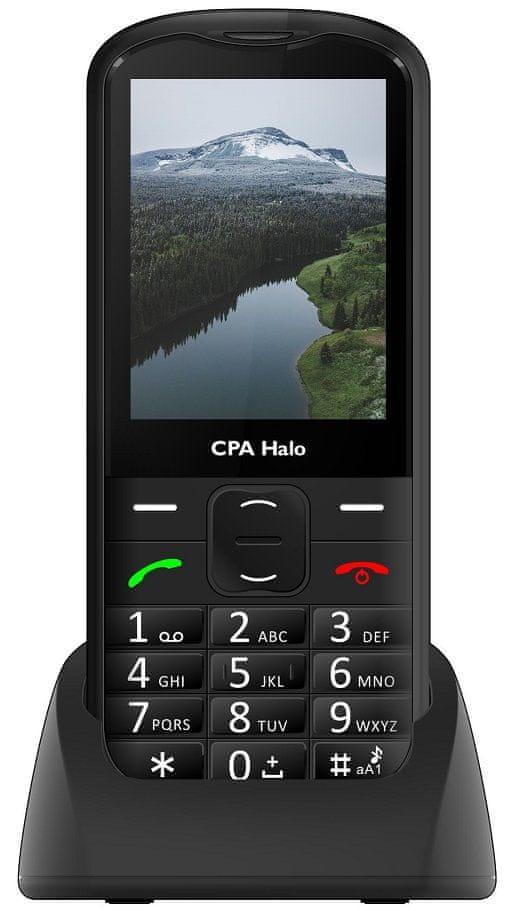 CPA Halo 18 Senior černý s nabíjecím stojánkem