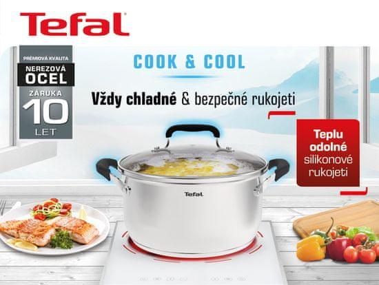 Tefal Súprava riadu 10 ks Cook&Cool E493SA74