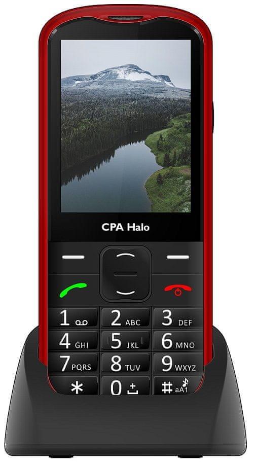 CPA Halo 18 Senior červený s nabíjecím stojánkem - použité