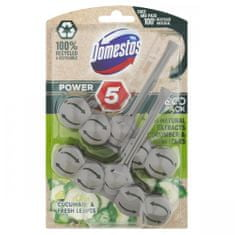 Domestos Power 5 Cucumber &Fresh Leaves ECO WC-frissítő 2 x 55 g