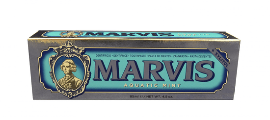 Marvis Aquatic Mint zubní pasta s xylitolem, 85 ml