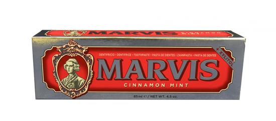 Marvis Cinnamon Mint zubní pasta s xylitolem, 85 ml