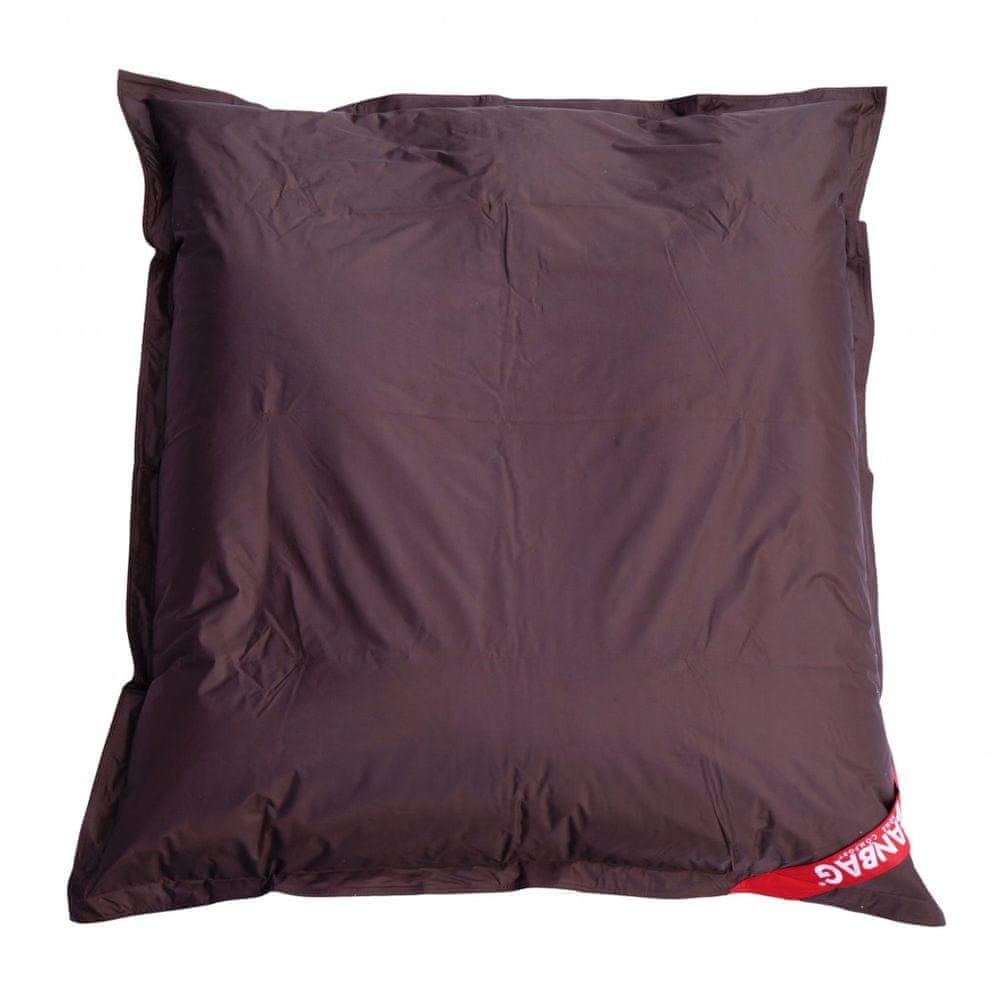 Beanbag Sedací vak 179x140 perfekt chocolate
