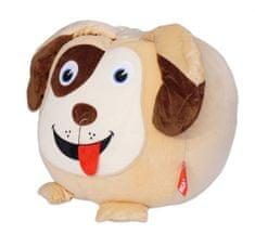 Beanbag Sedací vak pes Čak, béžová/hnědá