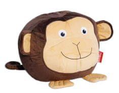 Beanbag Sedací vak opice Žofka,hnědá/béžová