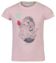 ALPINE PRO Garo 2 otroška majica, 92 - 98, roza