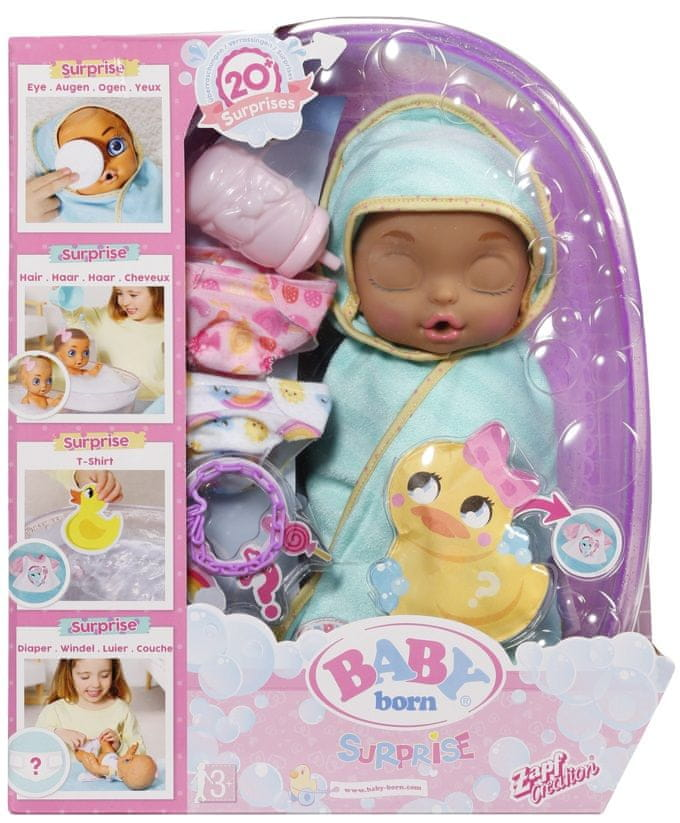 BABY born Surprise Panenka s vaničkou