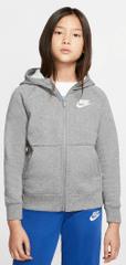 Nike dívčí mikina Sportswear S šedá