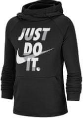 Nike Dri-FIT otroški pulover, črn, S