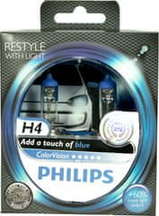 Philips Philips H4 ColorVision Blue 12V 12342CVPBS2